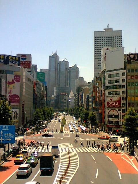 新宿-交差点
